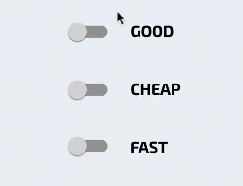 Good Cheap Fast